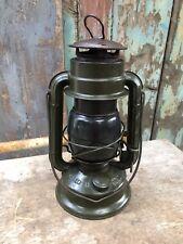 Tropic Chalywn 1959 MOD Green Paraffin Hurricane Storm Oil Lantern