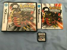 POKEMON PLATINUM! GAME, CASE, & MANUAL! GREAT CONDITION! TESTED! AUTHENTIC!