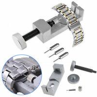 Metall Uhr Band Armband Glieder Uhrstift Entferner Reparatur-Werkzeug Abbau Neu