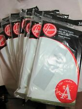 Lot Of 7 Genuine Hoover Type A-3 Pack Vacuum Cleaner Bags- # 4010001A