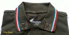 Polo militare Esercito Italiano Defcom 5 militaria con patc tg. M