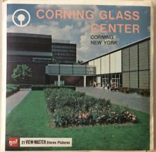 Vintage ViewMaster Corning Glass Center New York Stereo Pictures GAF Packet A666