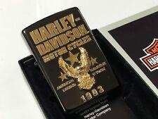 Rare! New! ZIPPO Harley Davidson Limited Model 3D Eagle Emblem Lighter HDP-51