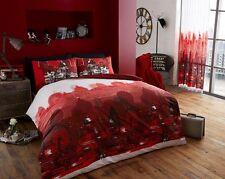 Gaveno Cavailia LONDON ZOOM SINGLE Duvet Set, Red