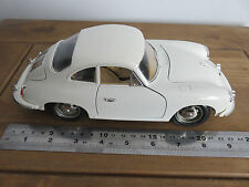 Porsche 356B 1961 1/18 escala Diecast Coleccionistas coche Casi Nuevo Con