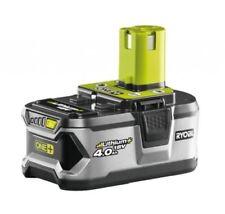 Batteries et chargeurs électriques Ryobi sans fil pour le bricolage