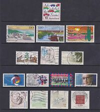 Germany - 15 stamps - 1997 - Used - (Catalogue value £30.00)