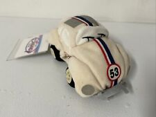 Herbie the Love Bug 53 Disney Bean Bag Plush Retired VW Car Disney Store w/ Tag