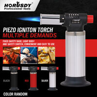 "Jet Torch Gun Lighter Welding Adjustable Flame Windproof Butane Refillable 5.5"""