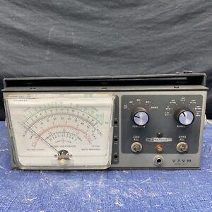 Heathkit VTVM Model Im-13 Vacuum Tube Volt Meter E6 for sale online
