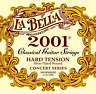 2001HARD LaBella Classical Guitar Strings - Silver Wound Basses