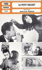 Fiche Cinéma - JEAN - LUC GODARD - PETIT SOLDAT (LE) - 1960