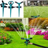 360° Rotating Water Sprinklers Sprayer Plant Lawn Watering System Garden Tools