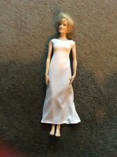 White Gown for Princess Diana Doll