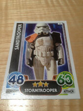 STAR WARS Force Awakens - Force Attax Trading Card #047 Sandtrooper