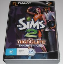 THE SIMS 2 NIGHTLIFE EXPANSION PACK PC GAME COMPLETE (RATED M)