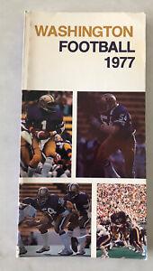 WASHINGTON HUSKIES FOOTBALL MEDIA GUIDE 1977; WARREN MOON