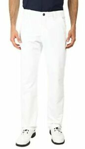 UNDER ARMOUR MENS MATCH PLAY GOLF PANTS WHITE 1248089-100 34x30