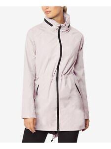 32 Degrees Hooded wind rain Burnished Lilac Anorak Jacket Coat Large retail $100
