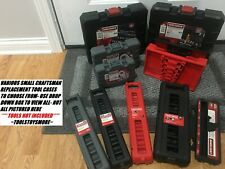 CRAFTSMAN SMALL TOOL CASE SOCKET TORX HEX IMPACT CHOICE *TOOLS NOT INCLUDED*