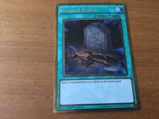 Yu-Gi-Oh Gold Rare Foolish Burial 1st Edition PGL2-EN051 (NM)