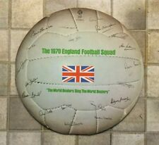 1970 ENGLAND FOOTBALL SQUAD RECORD JACKIE CHARLTON BOBBY MOORE GORDON BANKS NEW