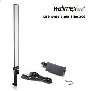Walimex pro LED Strip Light Slim 300 Daylight 30W 5.600 K 90 Ra 3300 Lumen