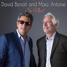 David Benoit And Marc Antoine - So Nice! (NEW CD)
