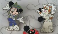 Scoop and Friends 2010 Hidden Mickey Series WDW Choose a Disney Pin