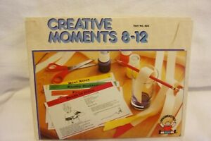 """1984 Discovery Toys """"Creative Moments"""" Cards Complete set in (Ages 8-12) #404"""