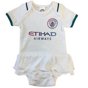 Manchester City FC Baby Girls Tutu Bodysuit | 2021/22