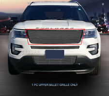 Fedar Main Upper Billet Grille Insert for 2016-2017 Ford Explorer-Polished