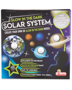Create Your Own Glow In The Dark 3D Solar System Model Planets 8 Planets