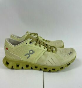 On Cloud NWOB $140 Cloud X Helion Glade Citron Running Shoes Sneakers Size 5.5