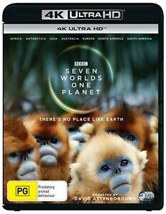 Seven Worlds One Planet 4K Ultra HD BRAND NEW Region B