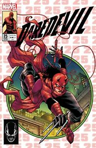 DAREDEVIL #25 2ND PRINT NAUCK SECRET HOMAGE VARIANT MARVEL COMICS SPIDER-MAN 300