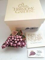 Harmony Kingdom Lord Byron's Harmony Garden Grapes Edition 1 Bouquet #HG4GR MIOB