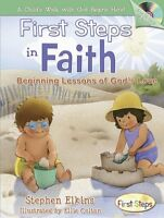 First Steps in Faith: Beginning Lessons of Gods Love [With Audio CD] by Stephen