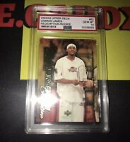 2003 Upper Deck Lebron James Freshman Season #63 GEM 10
