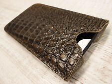 Samsung Galaxy S4 Active Leder Tasche braun Case Hülle Cover Schutz Bumper Etui