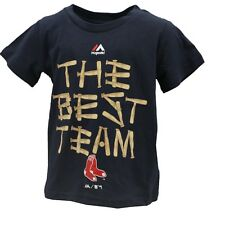 Boston Red Sox Official MLB Majestic Infant Toddler Size T-Shirt New with Tags