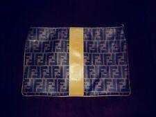 Fendi Vintage Zucca Clutch Bag