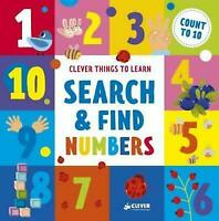 Search and Find Numbers: Count To 10 (Clever Things To Learn) by Clever Publish
