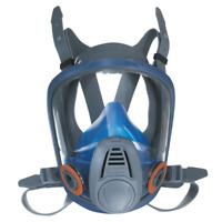 MSA-Advantage® 3200 Full-Facepiece Respirator, Rubber Harness, Medium