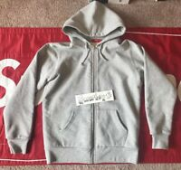 SUPREME Thermal Zip Up Heather Grey Fw13 Cdg Tnf Box Logo Ds KITH