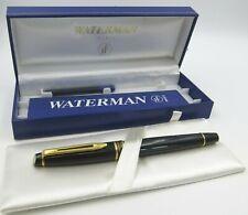 Boxed Waterman Fountain Pen Black