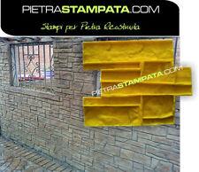 STAMPO per intonaco stampato FINTA PIETRA muro stampato Vertical Concrete Stamp