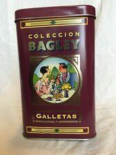 Vintage Decorative Tin Argentina Bagley S.A. Galletas Golosinas Cookie Danone