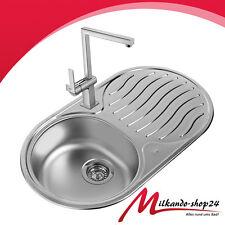 Teka Edelstahl Küchenspüle Einbauspüle Küchen rund Spüle Spülbecken Einbauspüle