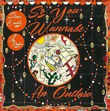 Steve Earle & the Dukes - So You Wannabe an Outlaw - New CD/DVD - 16/6